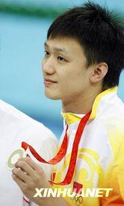 第一位中国男子游泳世界冠军—张琳